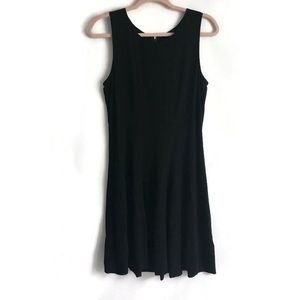 THEORY Fit And Flare Black Dress Size 6